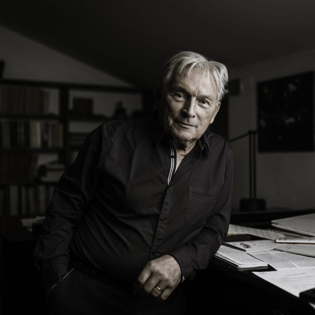 Zygmunt Krauze (photo by Adam Stępień, Agencja Gazeta)